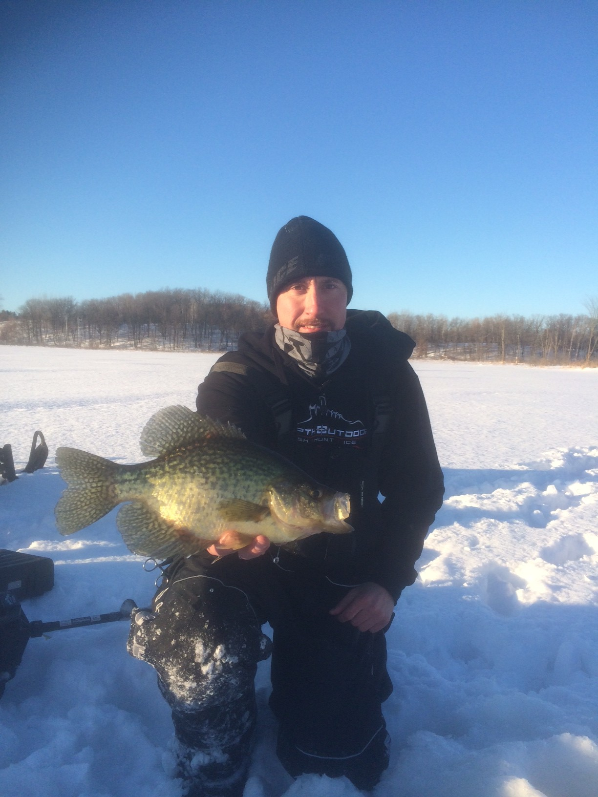 Crappie and gill plastics ice fishing forum in depth for Ice fishing plastics