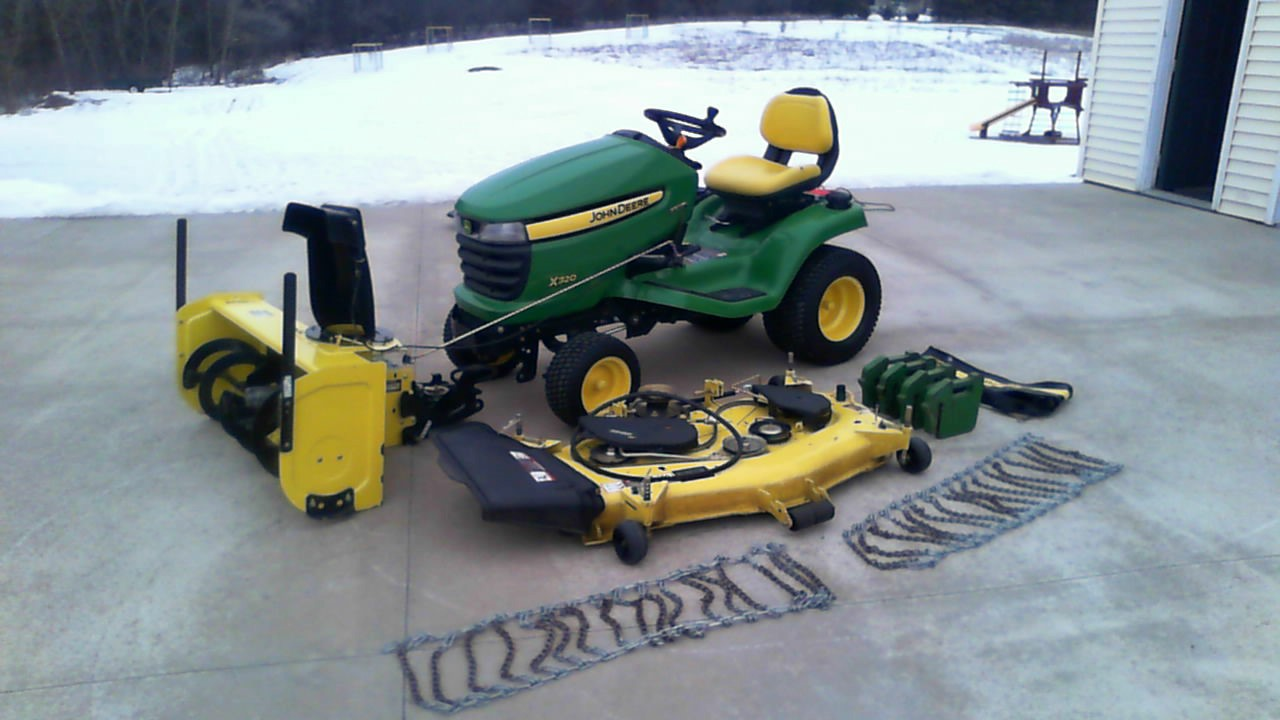 Search Results for    John    Deere    Lawn Mower Tractor Snow