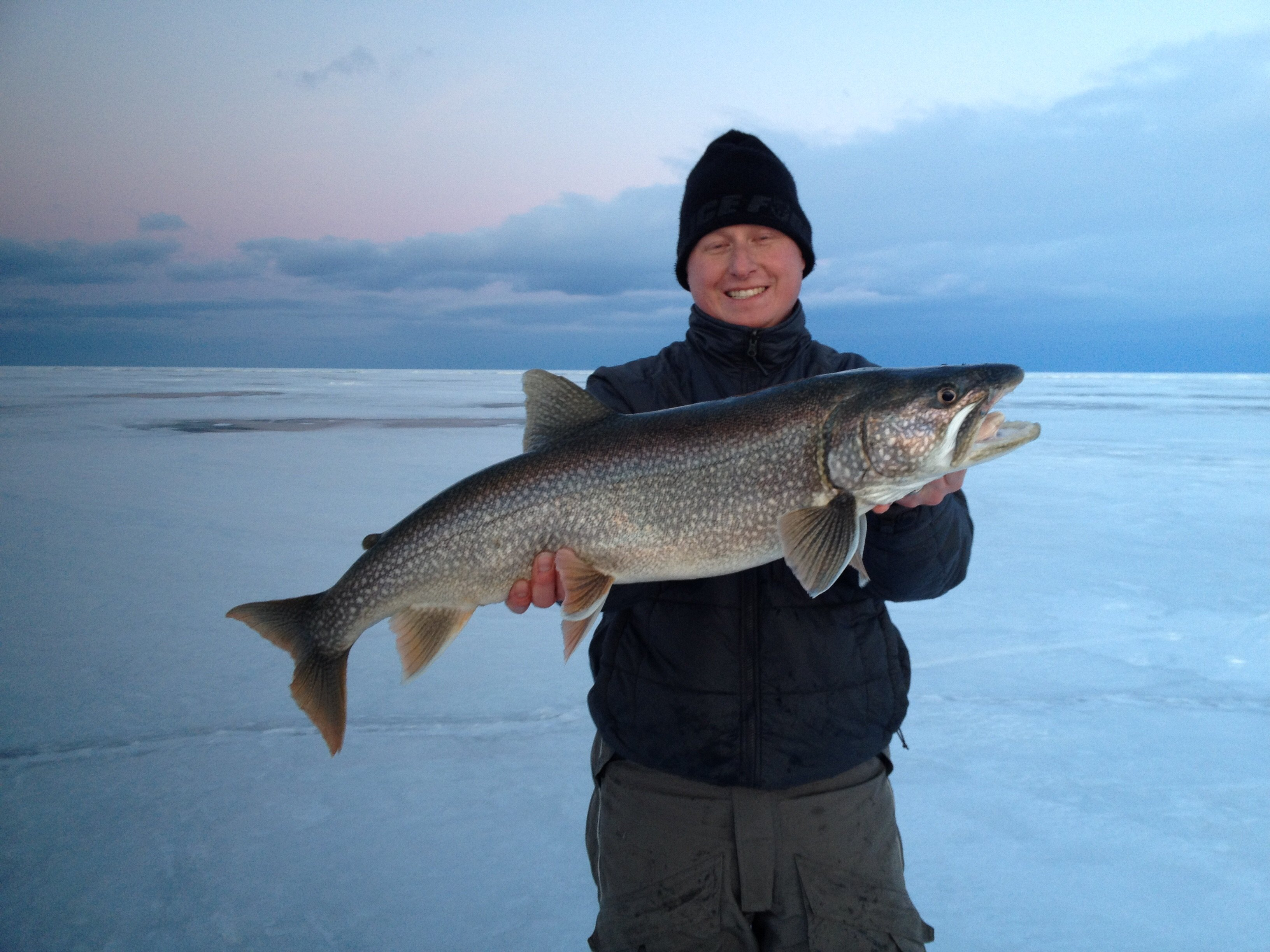 Caught the lake trout bug now what ice fishing forum for Lake trout ice fishing