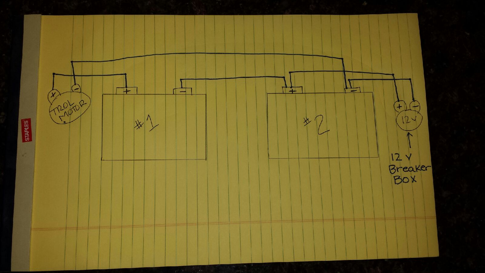 12v 24v diagram how to wire 24 volt trolling motor and 12 volt power pole on 2 12 24 volt wiring diagram for trolling motor at gsmportal.co
