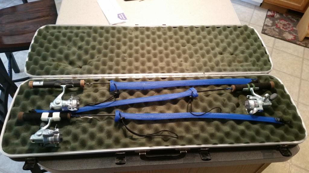 Tucr and st croix ice rods and case classified ads in for Ice fishing noodle rod