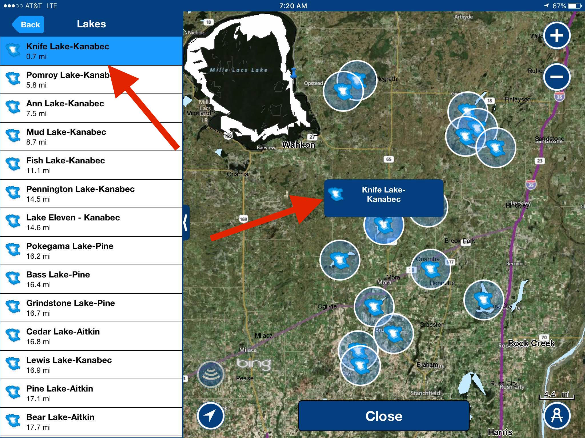 Another navionics mobile app tip ice fishing forum in for Navionics fishing app