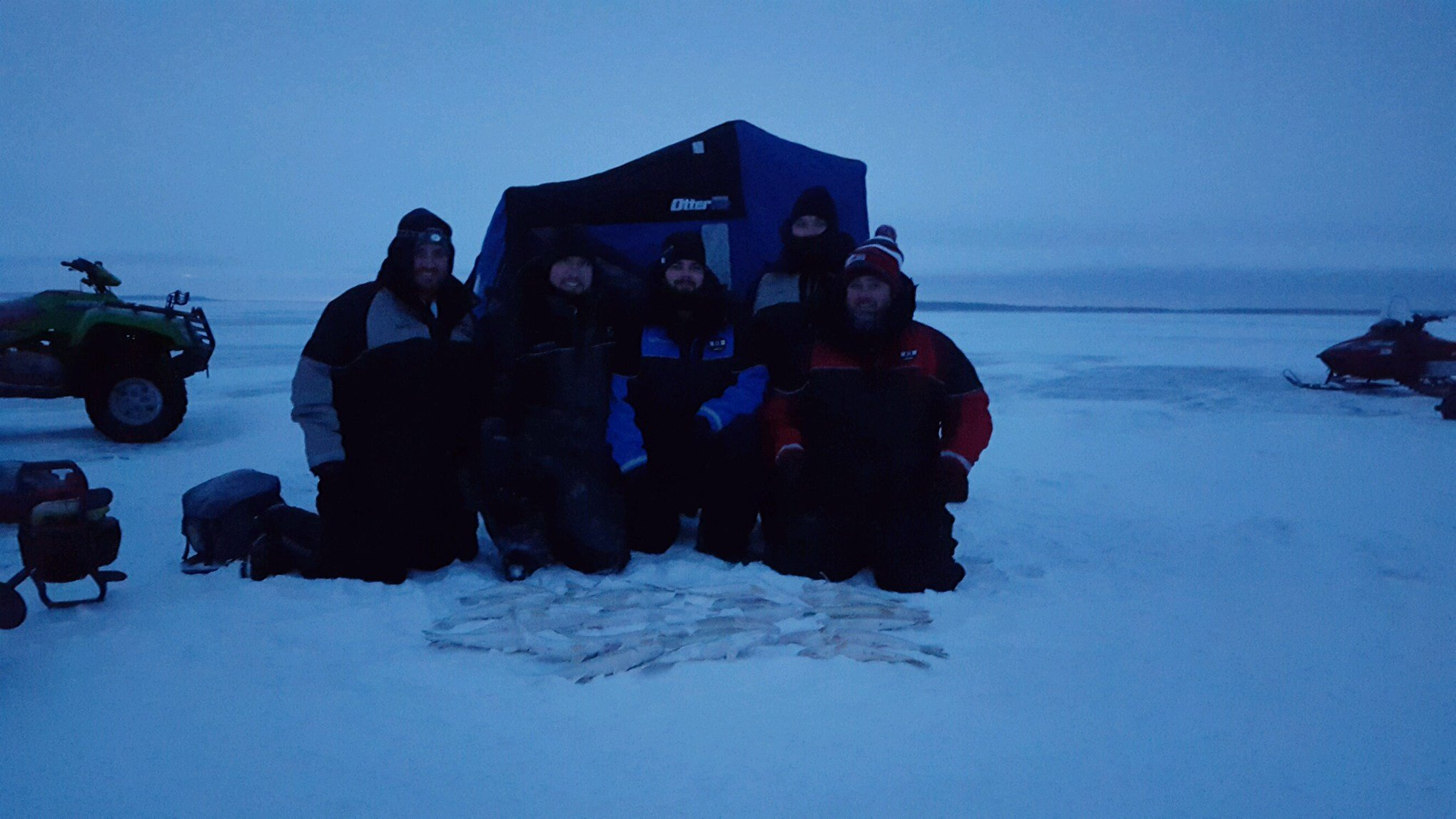 2016 ido get together announced on leech lake ice for Leech lake ice fishing