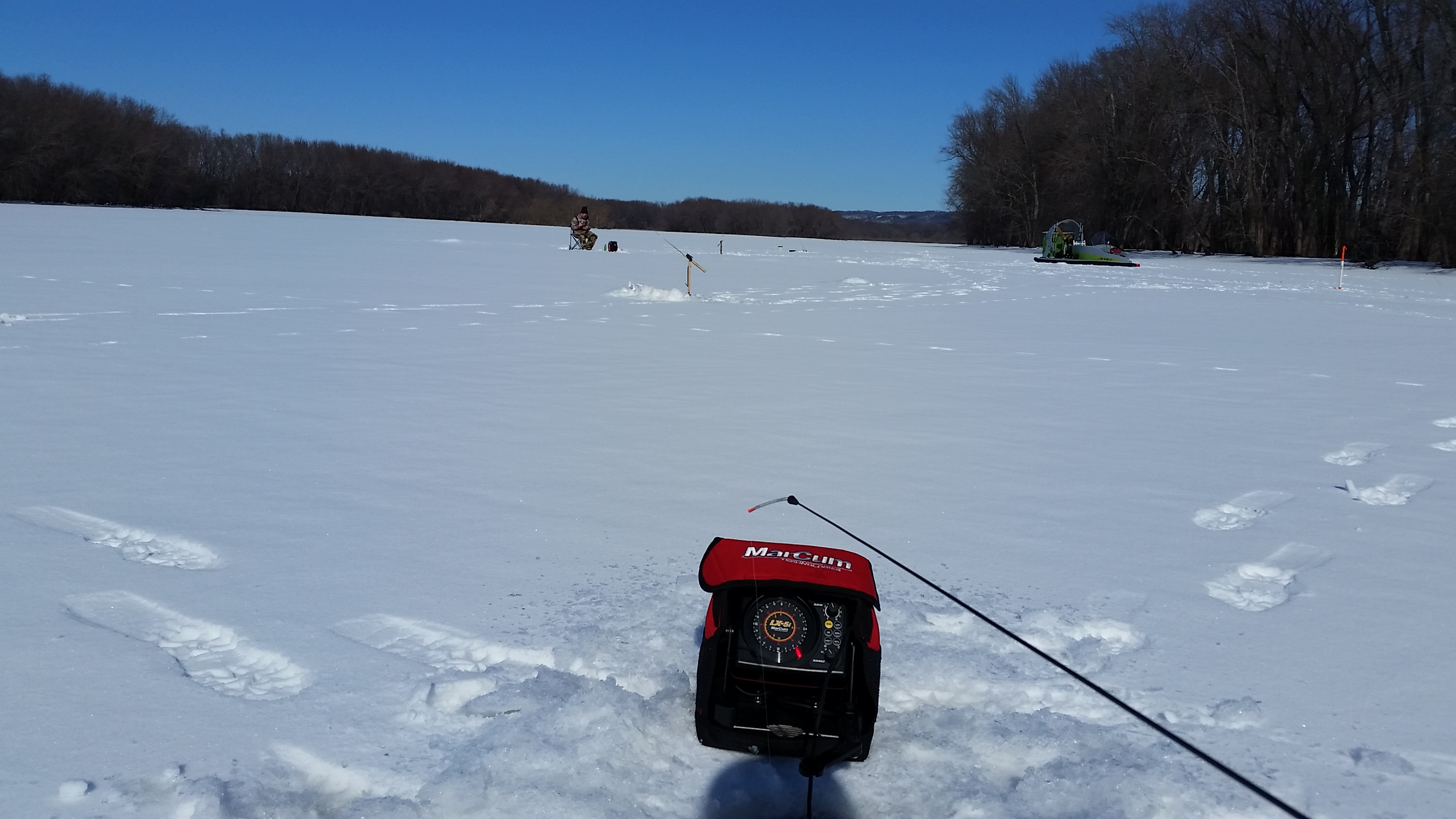 can we get these fish to cooperate ice fishing forum