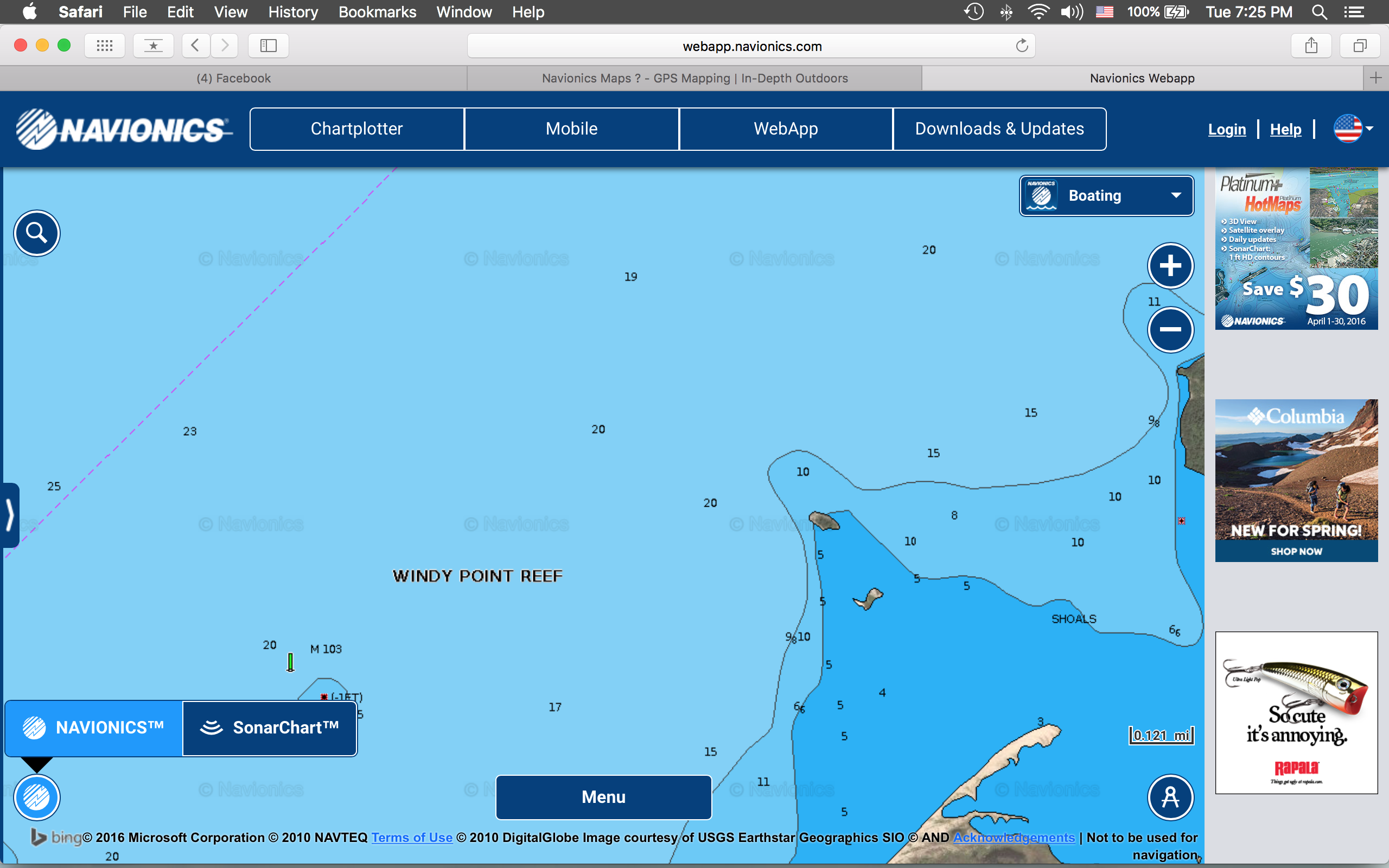 Navionics app for Navionics fishing app