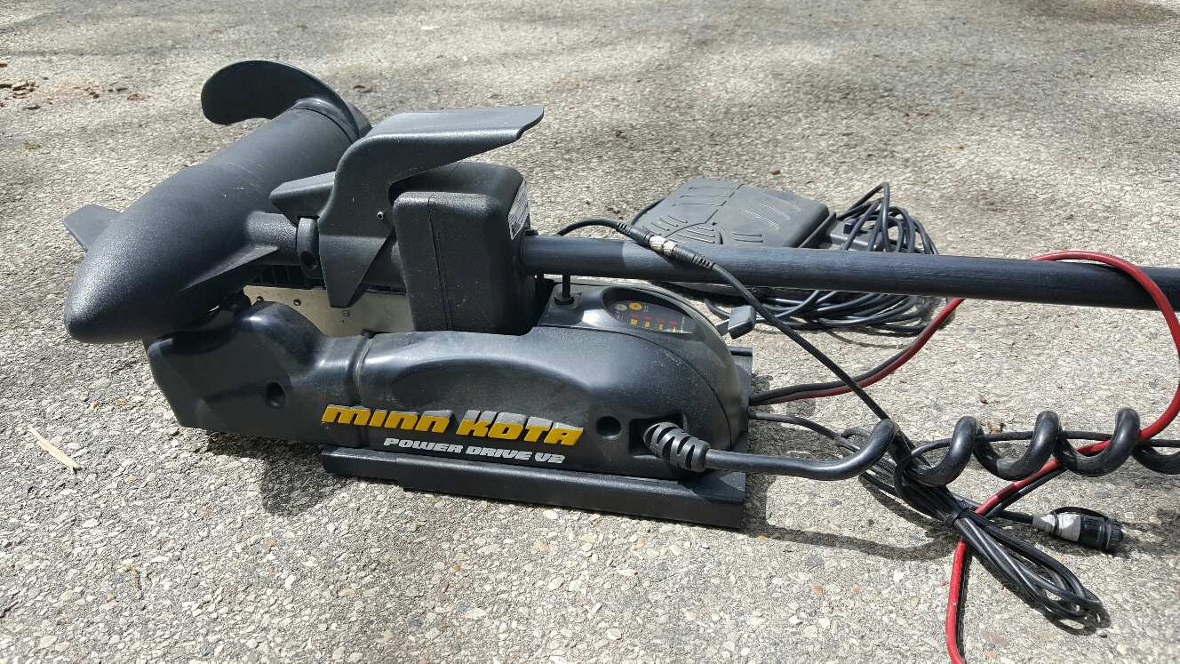 for sale minn kota powerdrive v2 series trolling motor