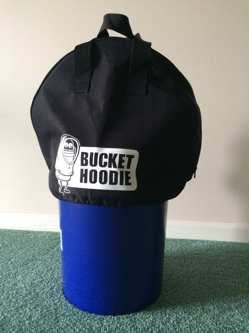 Bucket Hoodie Cover Ice Fishing Forum In Depth Outdoors