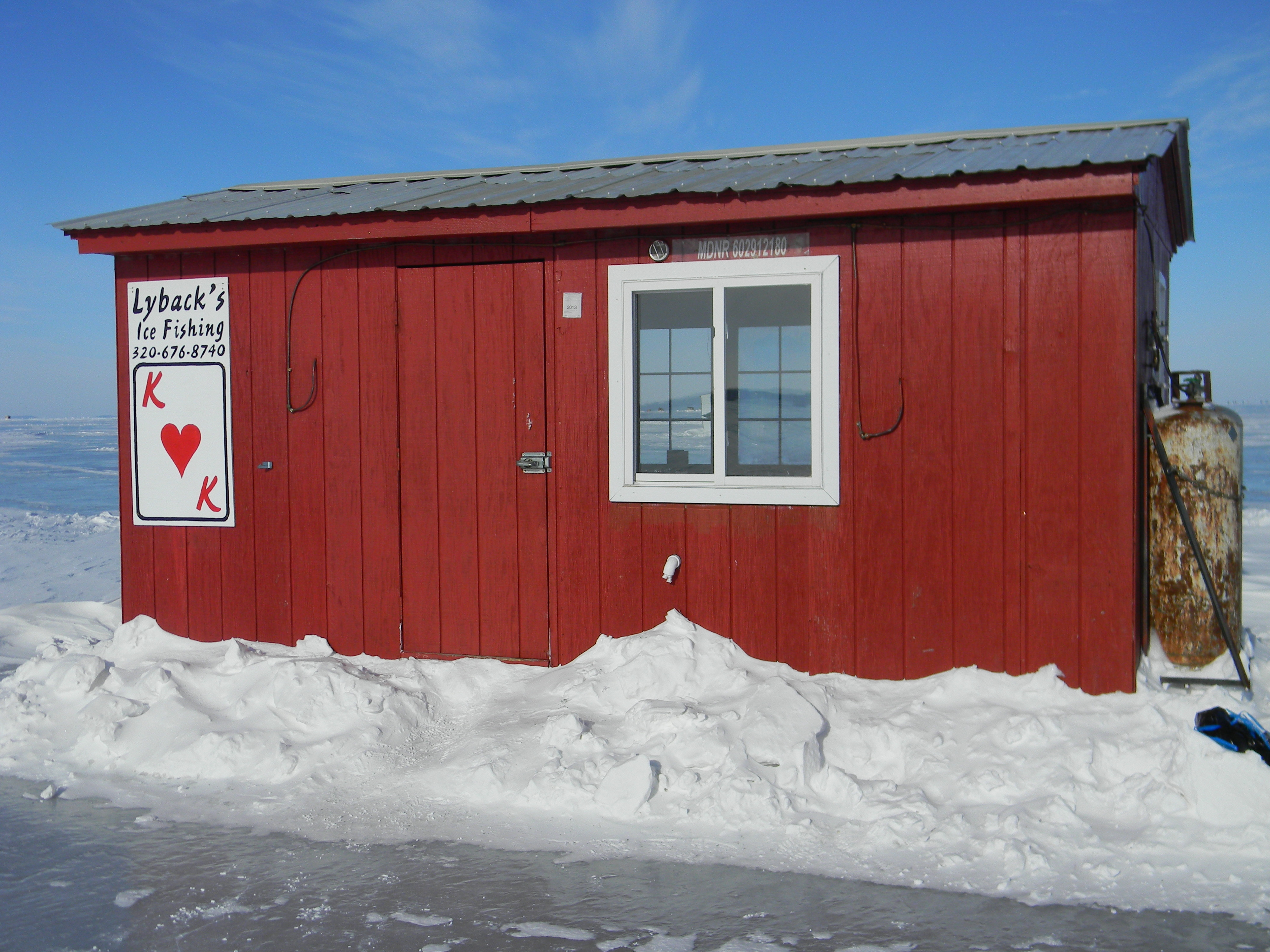 Best mille lacs houses ice fishing forum in depth outdoors for Mille lacs ice fishing rentals