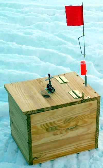Tip Up Box - Ice Fishing Forum