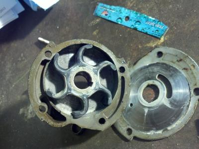 Older Johnson 9 5 horse water pump/impeller issues - Outdoor