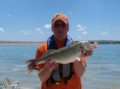 Lake mcconaughy nebraska walleye report fishing reports for Lake mcconaughy fishing