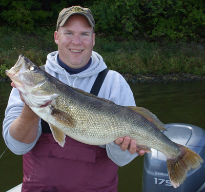 Mississippi river walleye fishing report 10 12 09 for Ms fishing report