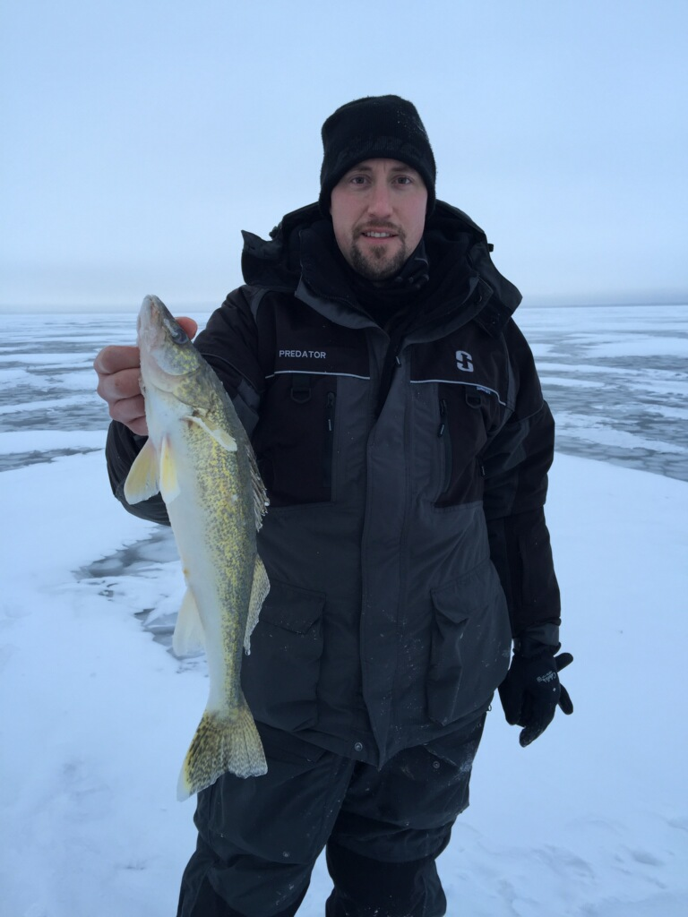 Ice fishing fishing reports by techniques in depth for Leech lake mn fishing report